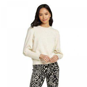 NWT Who What Wear Pullover Sweatshirt XL Birch